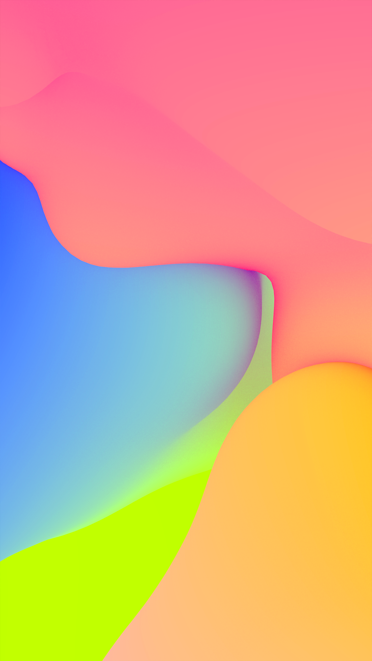 Color Blob 1 Wallpapers Central