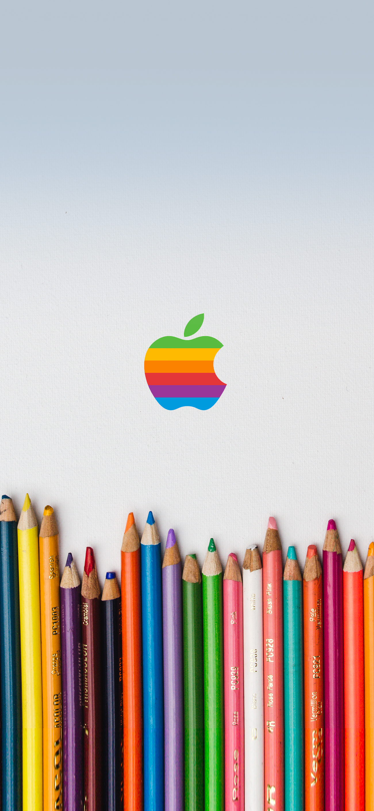 Rainbow Apple Pastels Wallpapers Central