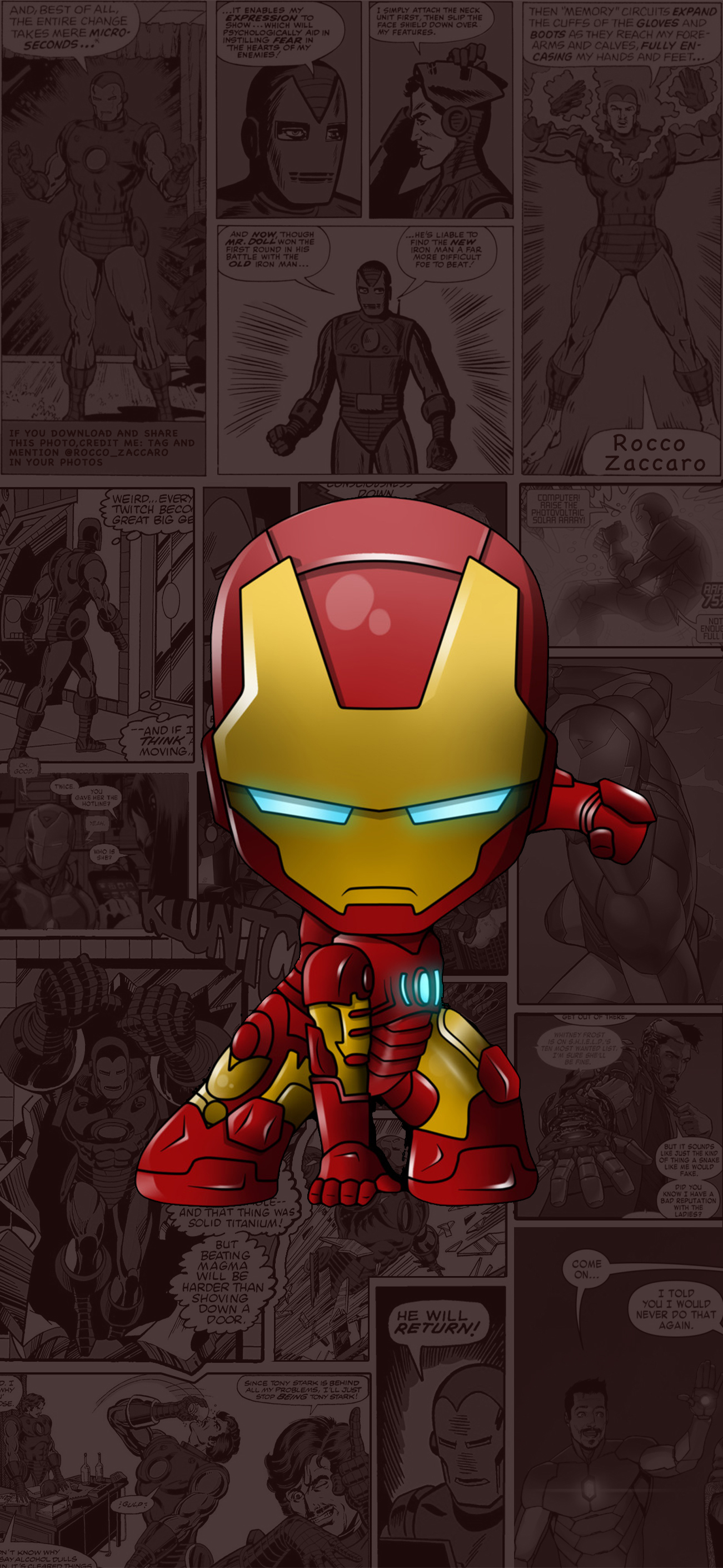 iron man - wallpapers central