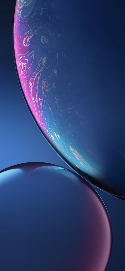 Iphone Xr Stock Wallpaper Blue Wallpapers Central