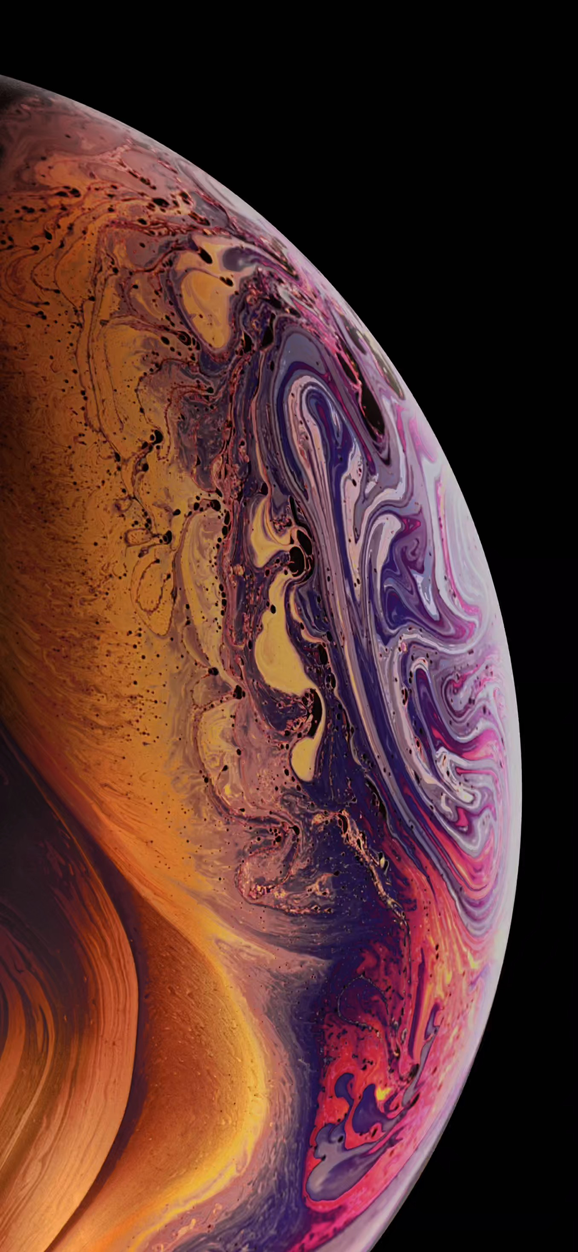 iPhone XS Wallpaper - Gold ( Event) - Wallpapers Central