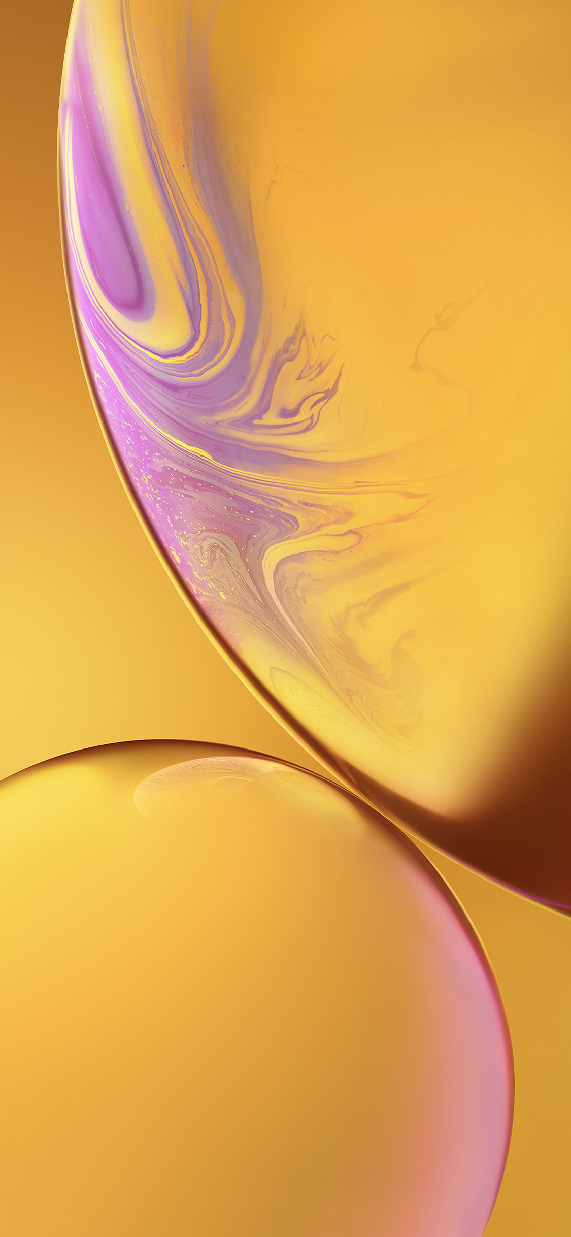 Iphone Xr Stock Wallpaper Yellow Wallpapers Central