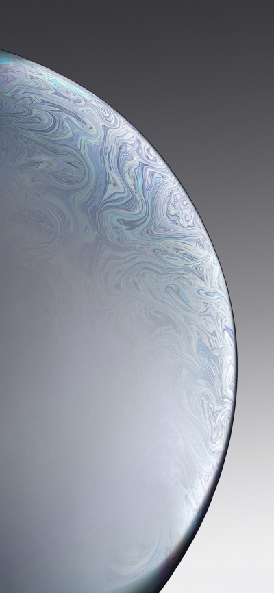 Iphone Xr Wallpaper Single Bubble White Wallpapers Central