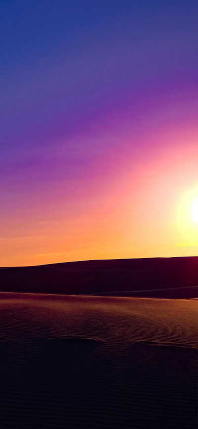 Sunset Gradient Colors Wallpapers Central