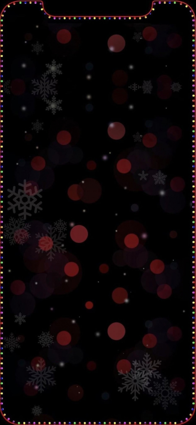 Iphone Xxs Enhance The Notch Christmas Wallpaper Wallpapers Central