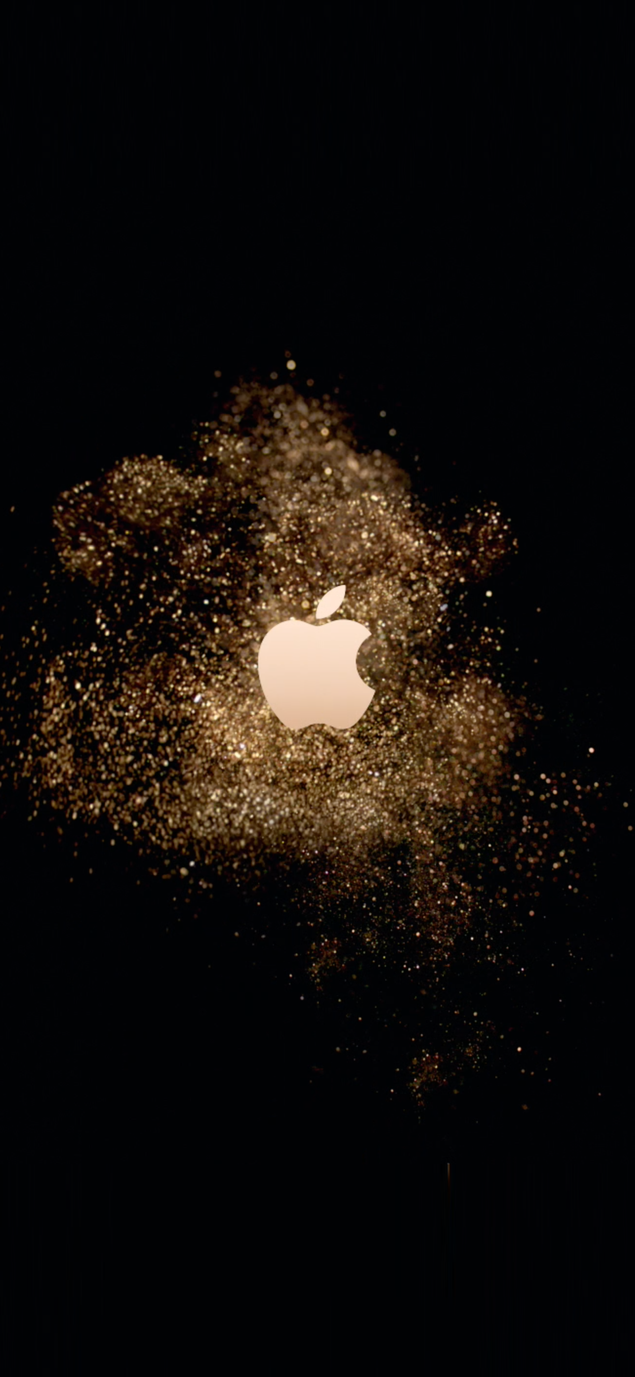 Apple Logo Stardust Live Wallpaper Wallpapers Central