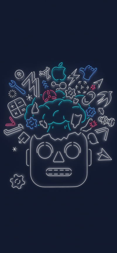 Wwdc 2019 Official Wallpaper Robot Wallpapers Central