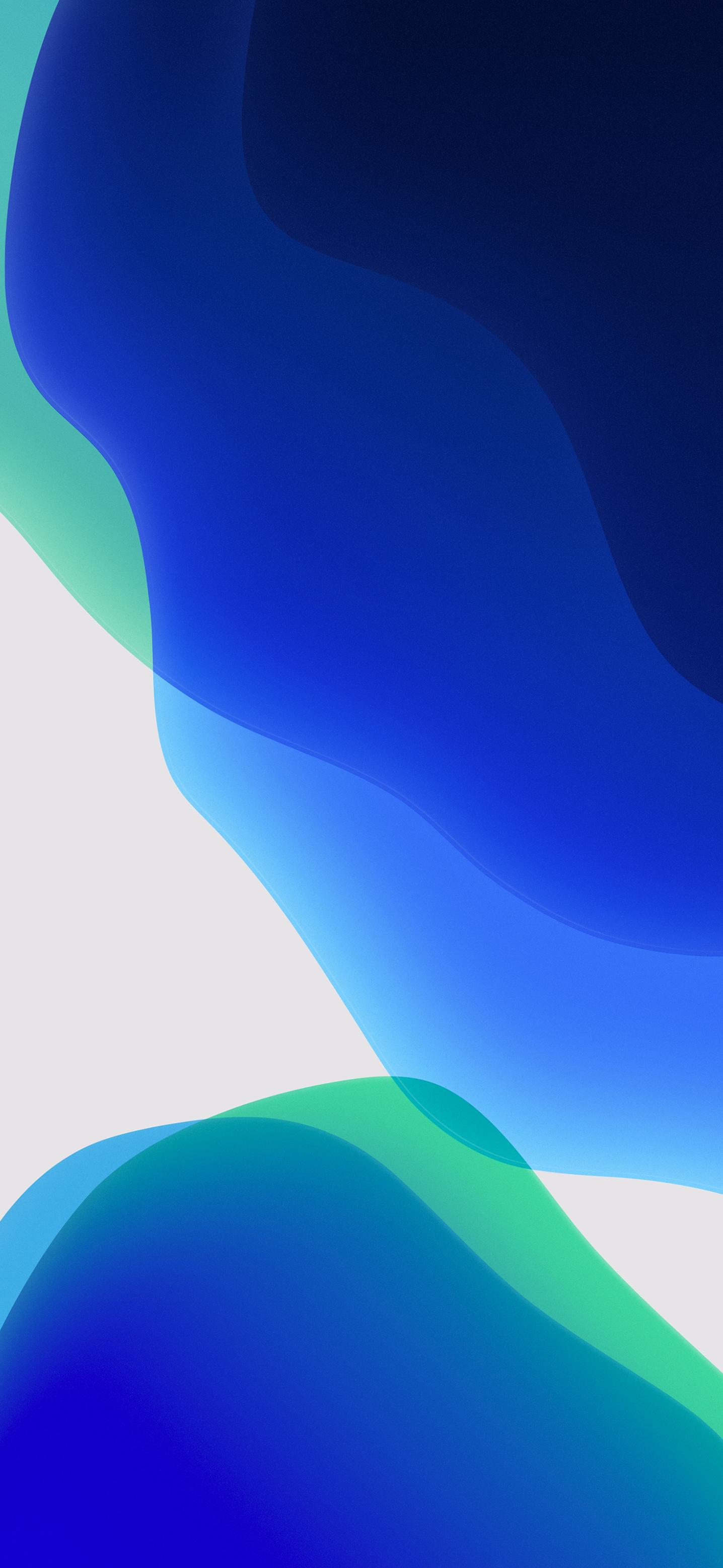 iOS 13 Official Stock Wallpaper (Ultra HD) - Green Dark ...