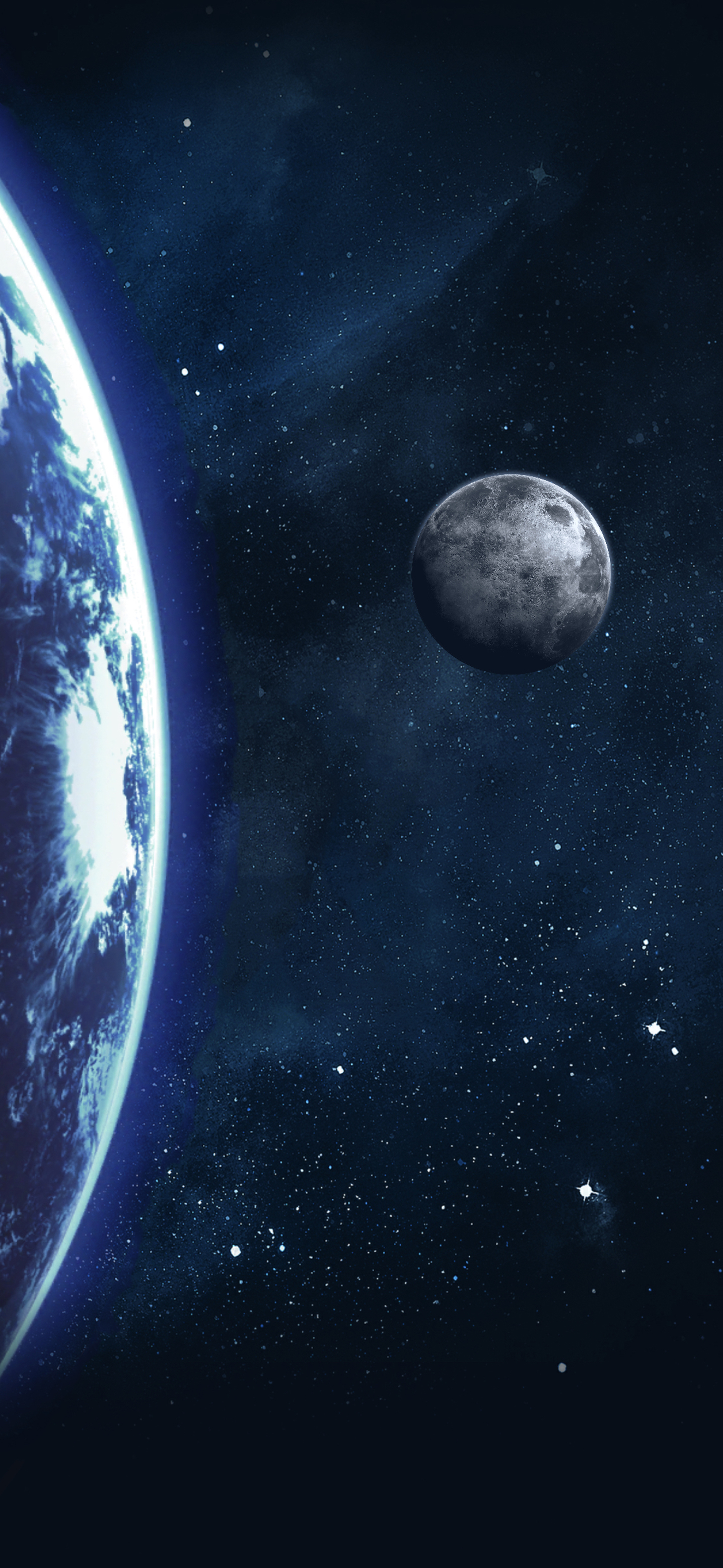 Earth And Moon Wallpapers Central