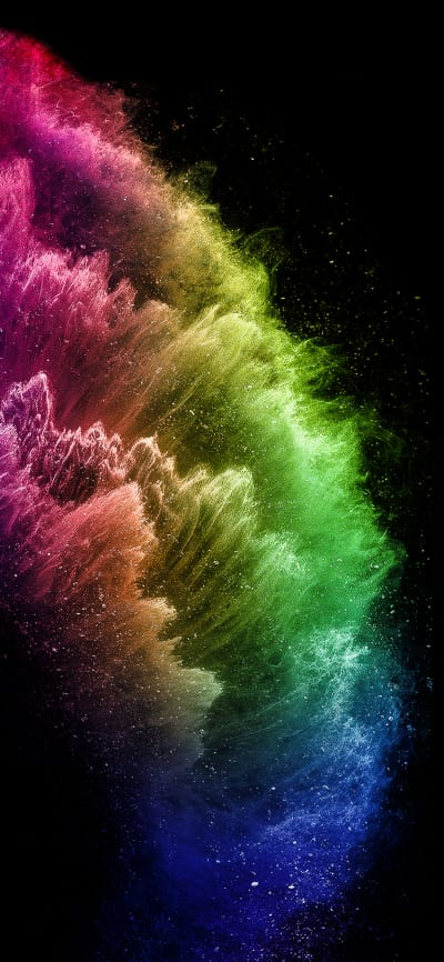 Iphone 11 Pro Rainbow Version Wallpapers Central