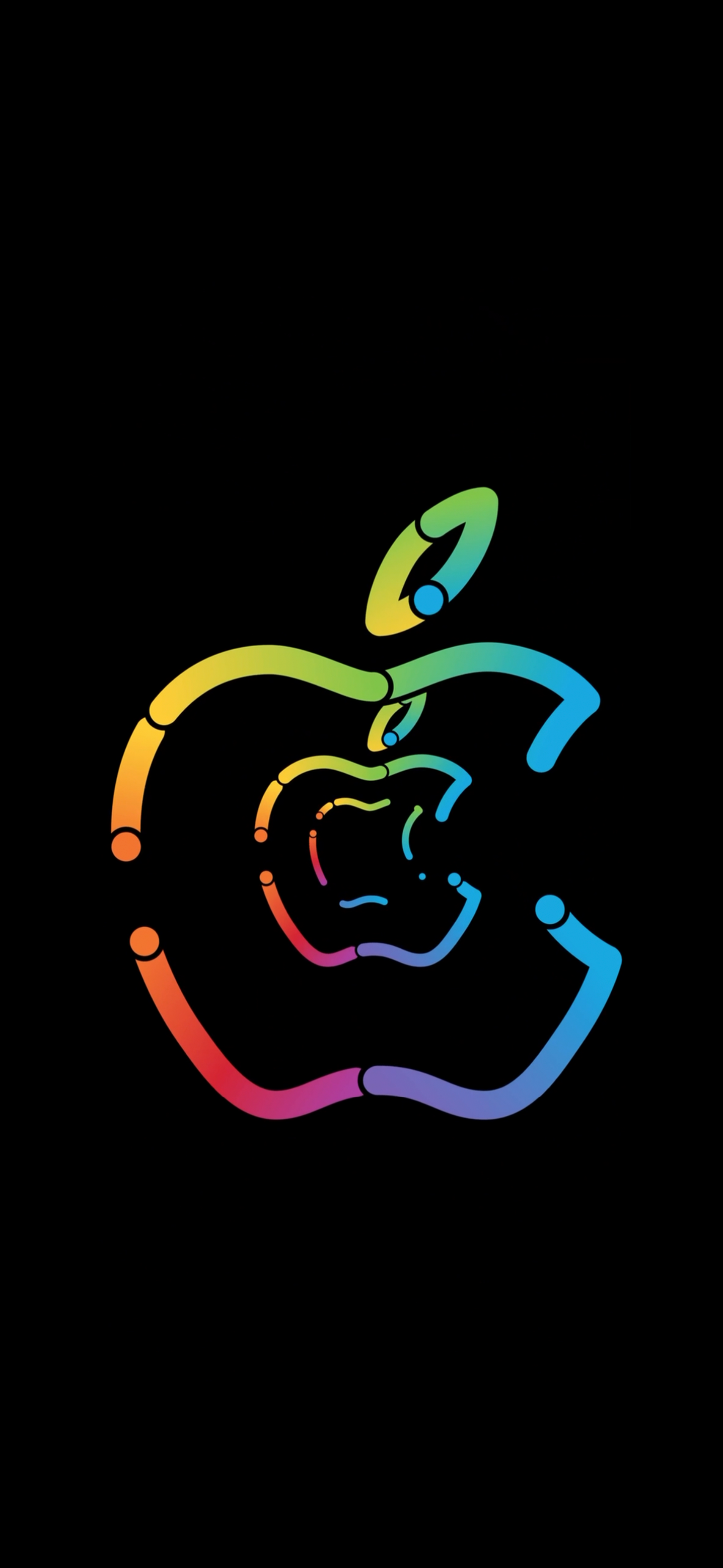 Apple Logo Animation Iphone 11 Promotional Live Wallpaper Wallpapers Central