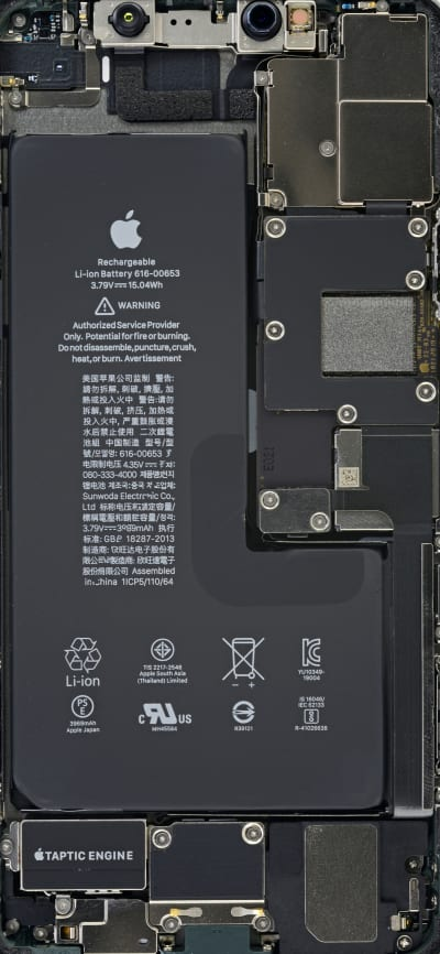 iPhone 11 Pro Max Internals Wallpaper , Wallpapers Central