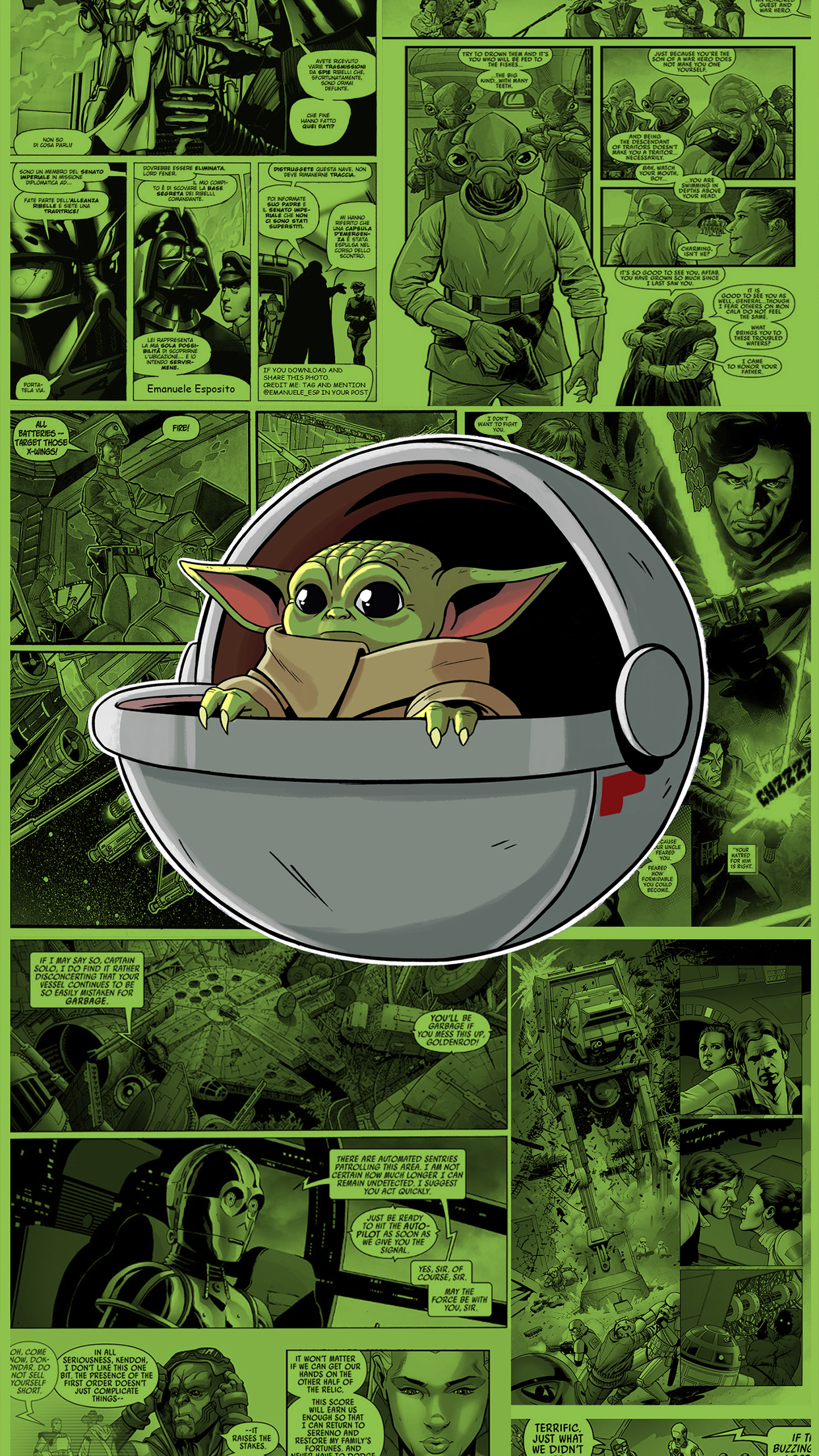 Star Wars Baby Yoda Wallpapers Central