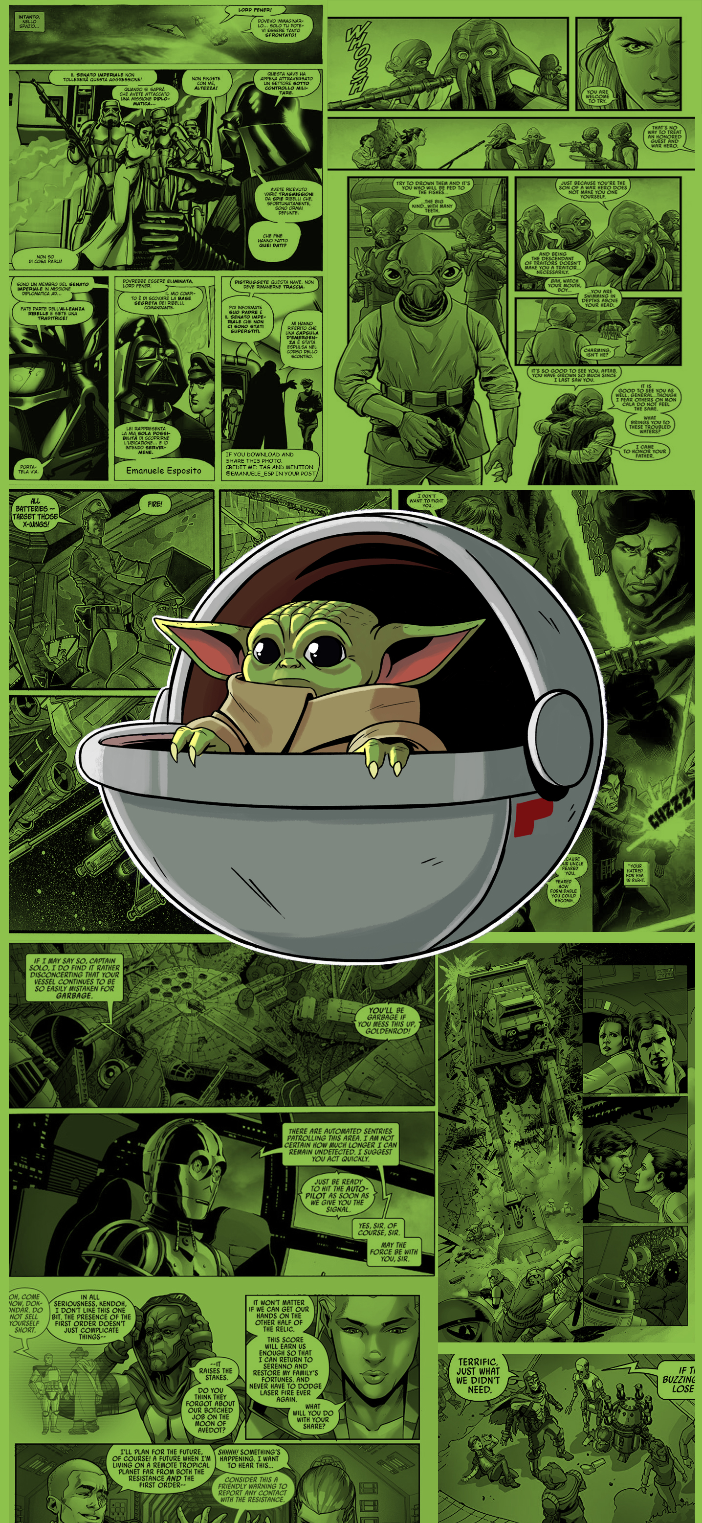 Star Wars , Baby Yoda , Wallpapers Central
