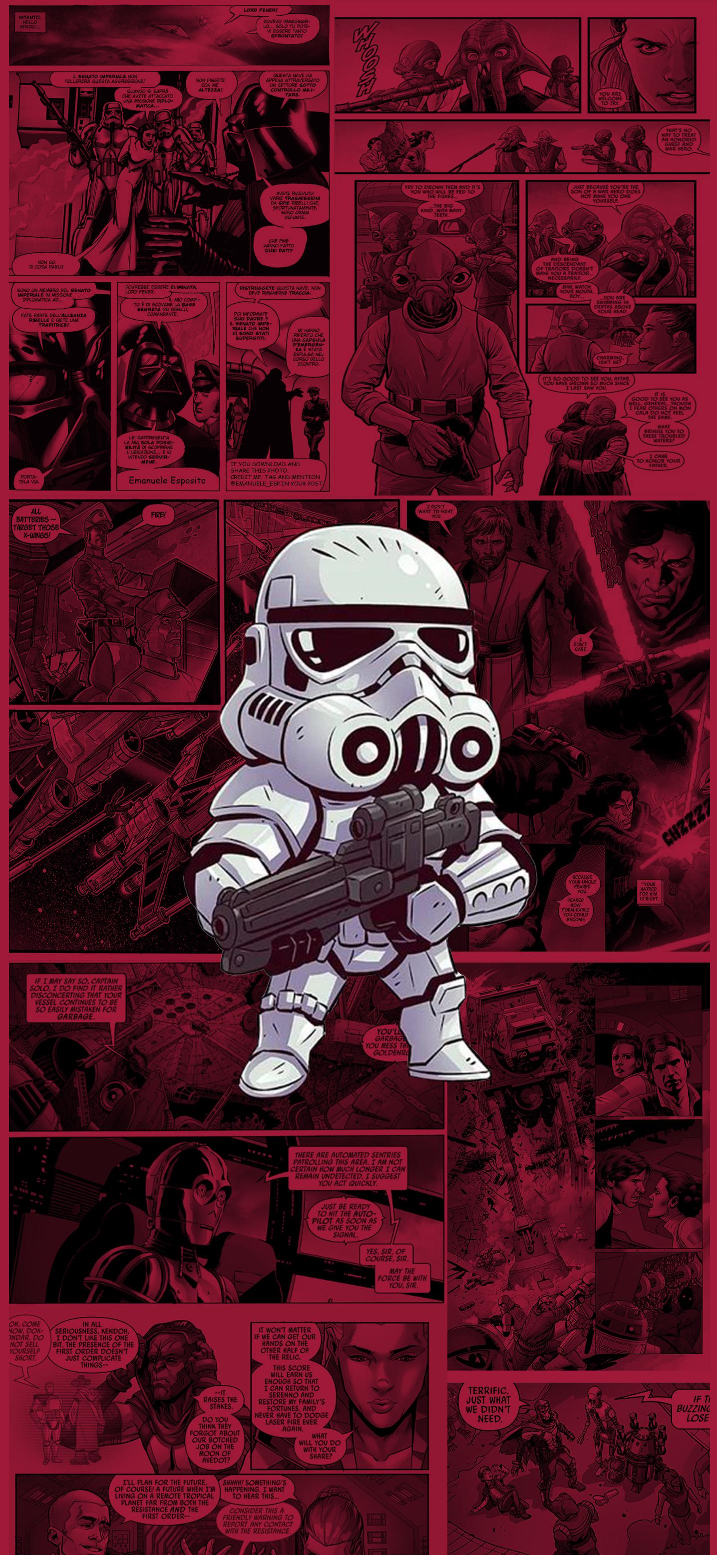 Storm Trooper iPhone