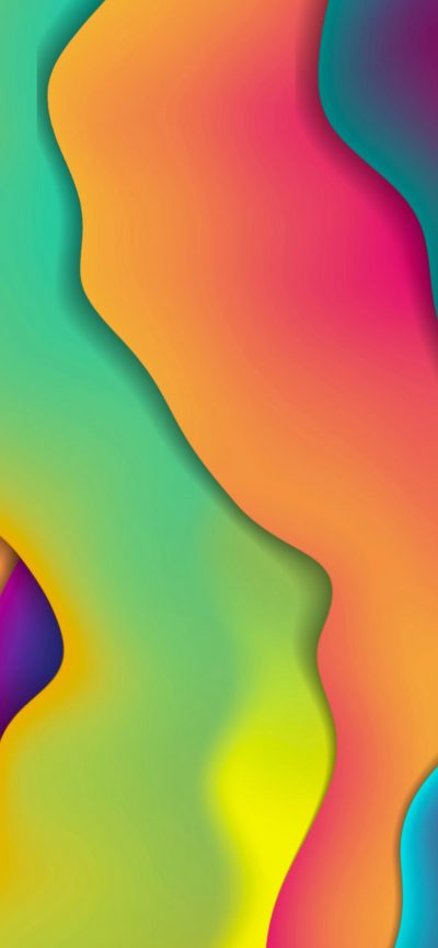 Fluid Rainbow Colors | LIVE Wallpaper