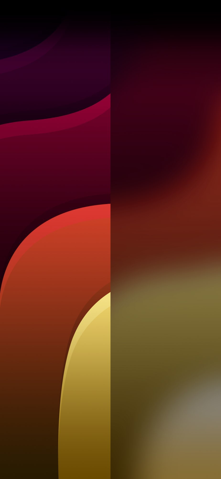 Waves Dual To Use With Ios 14 Widgets Wallpapers Central