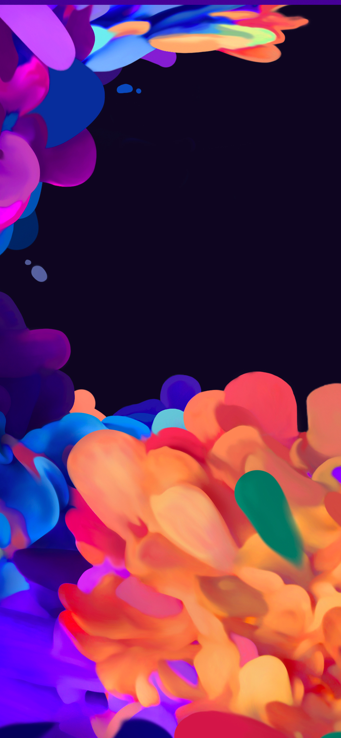 Painted Petals From Galaxy S20 Fe Wallpapers Central