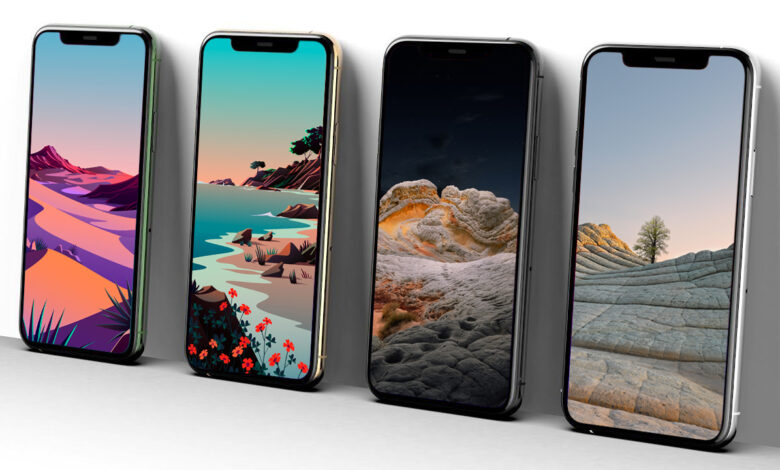 Photo of iOS 14.2 Stock Wallpapers